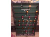 Football table complete and in perfect condition