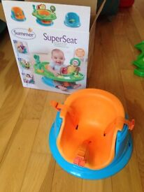 Baby Super Seat, for baby begin to learn seating or as a partial highchair for older kids