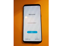 SAMSUNG GALAXY S8 PLUS. MIDNIGHT BLACK