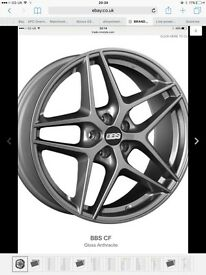 Brand new original unused BBS alloys alloy wheels from just £485