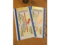 Buxton military tattoo tickets