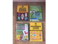 Driving test theory, Highway Code and Road Signs bundle