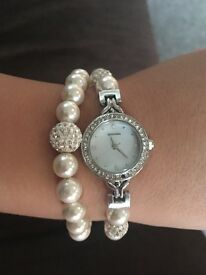 Sekonda watch and bracelet