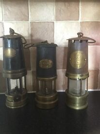Miner lamps