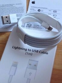 * NEW* Original Official Genuine 1m Apple IPhone Lightning Charger USB Cable