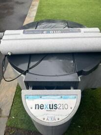 Nexus 210 pond filter and equipment