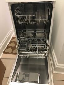 Bosch White slimline Dishwasher