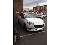 2015 Vauxhall Corsa 1.4 white limited edition