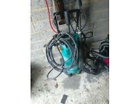Pressure washer Bosch ahr 1500 comes with lance and nozzle with 2 attachments vgc gwo