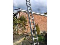 Double 13 ' aluminium ladder