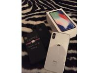 Immaculate IPhone X 64gb with box and cases