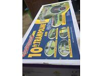 10 foot trampoline safety and enclosure.boxed.assembly available.delivery available