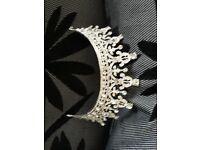 New heavy half tiara wedding grade