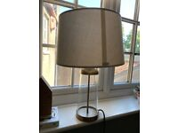 Table Lamp - Brass and Linen - West Elm
