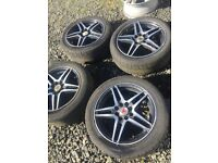 FORD VAUXHALL Team Dynamics Alloy Wheels 4x100/4x108