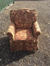 Sofa chairs - hand made -2 of - excellent condition non smoking family