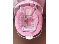 Baby girls bouncer for sale