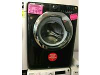 HOOVER 9KG 1400SPIN WASHING MACHINE IN BLACK