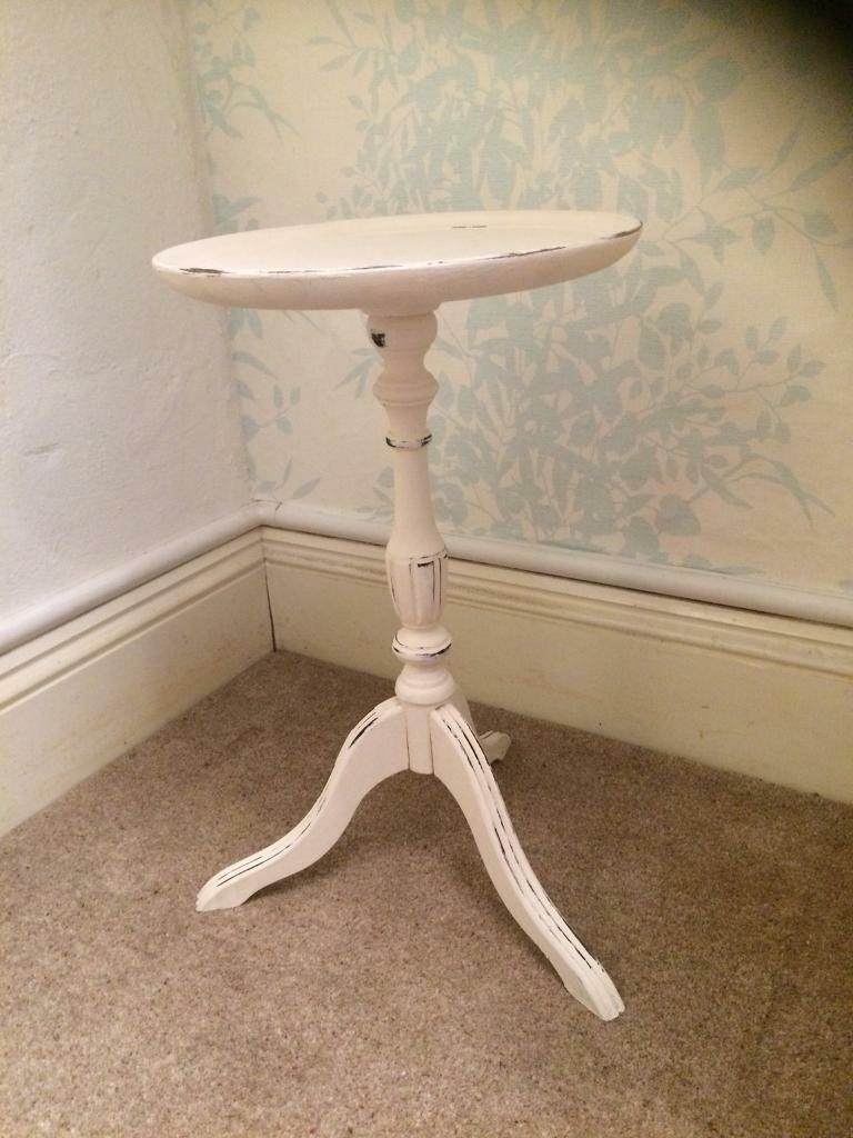 Small Round Side Table