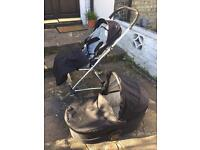 Mamas and Papas Urbo Carrycot and Pushchair