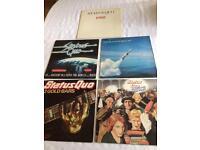 Status Quo collection includes 5 vinyl LPs