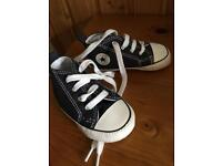 Baby soft Converse shoes size 4