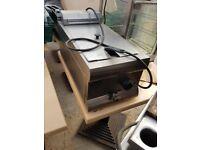 Stainless Steel Counter Top Deep fat fryer