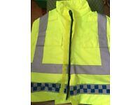 Security fluorescent stab proof vest