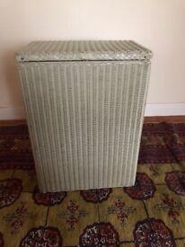 Vintage Lloyd loom laundry basket