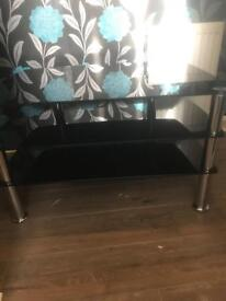 Tv glass stand Immaculate condition Bargain