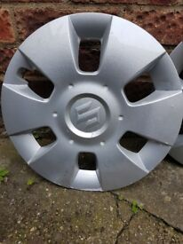 "Suzuki Swift MK II - 15"" Wheel Trims Cover Hub Caps x 4 for sale"