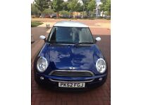 2002 MINI ONE 1.6 BLUE (57,800 MILES ONLY) A MUST SEE/ LONG MOT : 05/2017