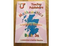 TeeJay Maths textbook. 3a