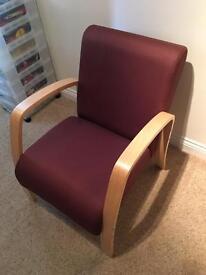 Brown Canvas Chair