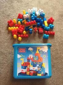 Big box of Mega Bloks