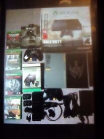 Xbox 1 with games £200