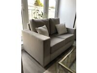 Gorgeous Grey 2 Seater Sofa (two available)