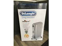 DeLonghi Dragon 3 - Electric oil filled radiator with electronic control - new - still in box