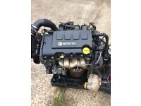 Corsa d 2011 1.2 z12xer complete engine 45k 100% perfect 07594145438