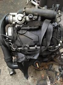 VW 1.9 TDI BKC BXE BXF engine 105 bhp Golf Audi Seat Skoda