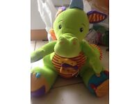 Baby soft sensory dragon toy