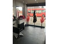Hair dressing/barbering chair hire