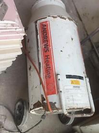 Andrews propane 110v portable heater