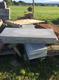 Concrete wall copes