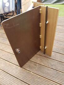 Caravan camper motorhome extension table.