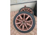 """BMW 3 Series 17"""" Alloy Wheels with Winter Tyres 225/45r17 E90/E91"""