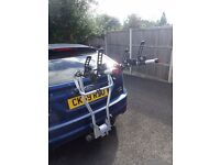Thule 4 bike towbar mounted carrier