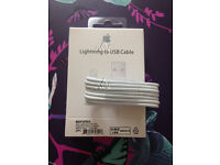 Job Lot 100x Apple 8 pin Lightning USB Sync Charger Cable for iPhone 5 5S 6 6plus