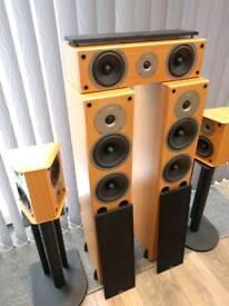 Gale 5 surround sound home theatre Speakers