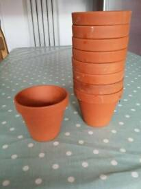Little pots and Weathered pots